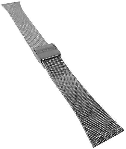 Skagen | Ersatzband Uhrenarmband Edelstahl Milanaise Band silberfarben 19mm für 523XSGSC 29918