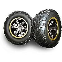 GPTOYS - Neumático para S911 Accesorio Reemplazo 2 Piezas 911-ZJ01