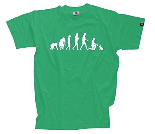 Preisvergleich Produktbild T-Shirt Kelly XL Kaninchenzüchter Kaninchen Hasen Haustier Evolution