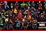 Iron Man Comics Thor Spiderman Superheroes Capcom She Hulk Marvel Vs Capcom Marvel Marv Mouse Pad, Mousepad (25,9x 21,1x 0,3cm)
