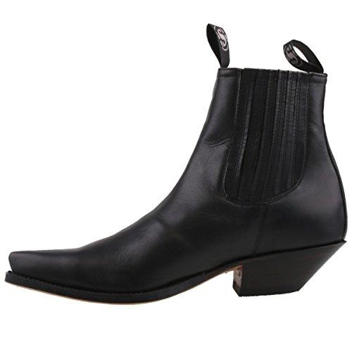 Sendra bottines 1692 noir Noir