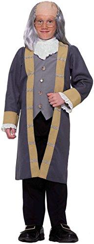Kostüm Franklin Ben - Inventor Scientist Ben Franklin Kostüm Child