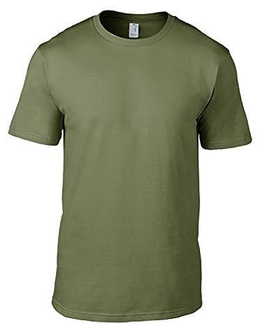 Sixtion Men's Organic Mens Ringspun T-Shirt XX-Large