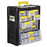 Kleinteilemagazin Sortimentskasten Fachkasten 12 Laden Koffer Werkstattregal