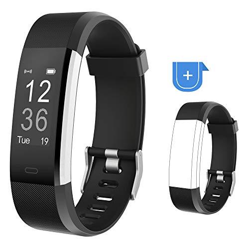 Willful Fitness Armband,Wasserdicht IP67 Smartwatch Fitness Tracker Fitness Uhr Pulsuhr Schrittzähler Uhr Damen Herren Aktivitätstracker mit Vibrationsalarm Anruf SMS Whatsapp für iOS Android Handy