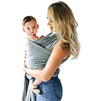 Premium Baby Carrier | Cover & Bib | EVO LINE | Sling Wrap | One Size Fits All | Cozy & Soothing for Babies | Suitable for Newborns, Infants & Toddlers | Cotton/Spandex Comfort Fabric | Anti Allergic