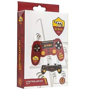 Cidiverte Controller Kit Roma 2.0 Gaming Controller Case - Accesorios de Controlador de Juego (Gaming Controller Case, Playstation 4, Naranja, Rojo, Silicona, Sony, Caja)