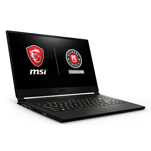 MSI GS65 Stealth i7 15.6 inch SSD Black