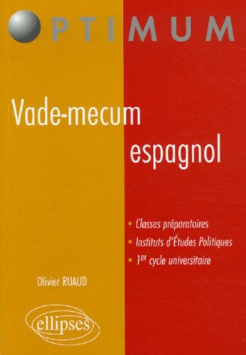 Vade-mecum espagnol par Olivier Ruaud