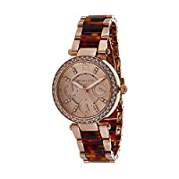 Michael Kors Womens Quartz Watch, Analog Display and Stainless Steel Strap MK5841