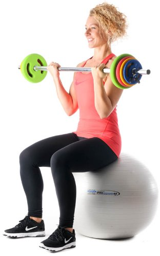 Oliver Prime Pump Langhantel Set 16 kg Hanteln Set Fitness Training Gewichte - 7