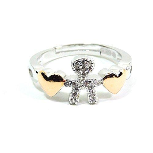 damiano-argenti-anello-bebe-e-cuoricini-in-argento-sterling-925-e-zirconi-bianchi