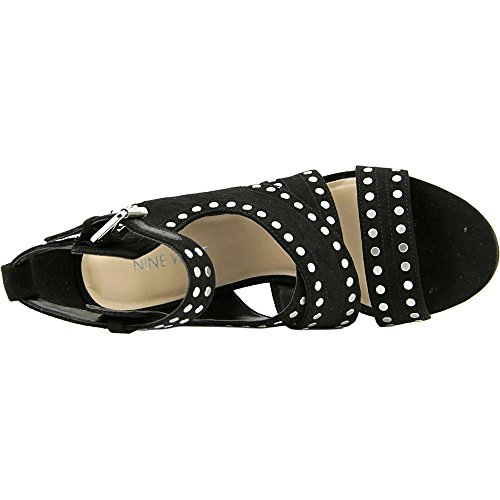 Nine West Josefineo Wildleder Sandale Black