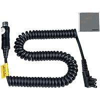 Fomito Godox PB NX PB960PROPAC PB820–Batería de litio para cable de cable para Nikon SB28EURO SB28DX SB80DX SB800SB900Flash Speedlite