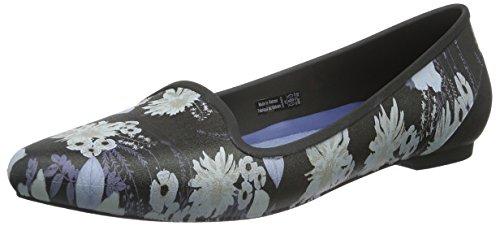 Crocs Eve Graphic Flat, Ballerine Donna Multicolore (Flowers)