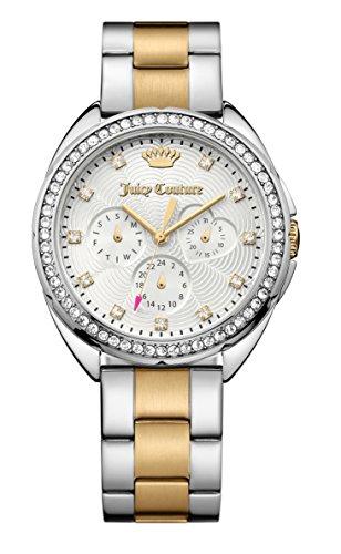 juicy-couture-womens-capri-deux-tons-cadran-en-acier-inoxydable-bracelet-en-argent-1901481