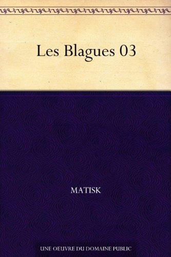 Couverture du livre Les Blagues 03