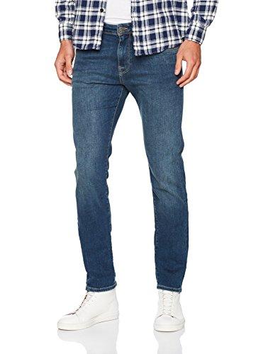 SELECTED HOMME Herren Slim Jeans Blau (Medium Blue Denim)