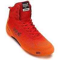 Everlast, Boxschuhe Force Knit - blau orange Mid Low Top Boxerstiefel Herren Männer