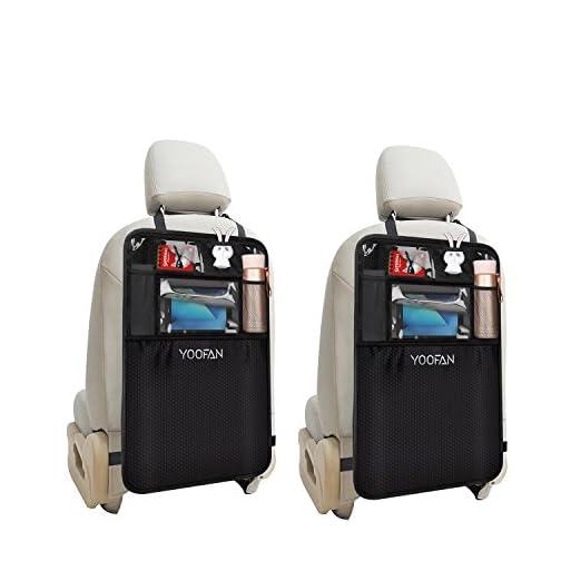 Protezione Sedile Posteriore Auto e Tasche per Sedili Auto