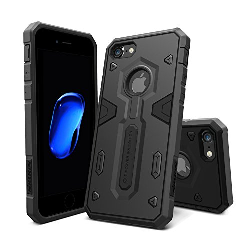 iPhone 7 Hülle, Nillkin Defender Series Armor Stoßfest Hybrid Stoßstange Rugged Hard Case Schutzhülle für iPhone 7 (Defender Case)
