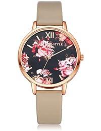 Relojes Mujeres Reloj de pulsera de cuarzo Relojes Vestido de damas Relojes de regalo, Ba