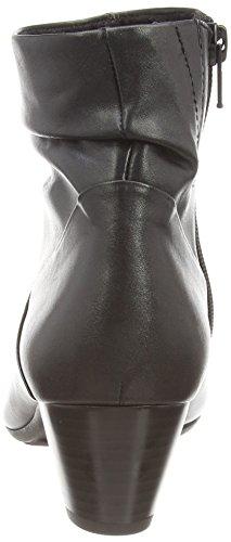 Gabor Kingston, Bottines  Femme Noir (black Leather)