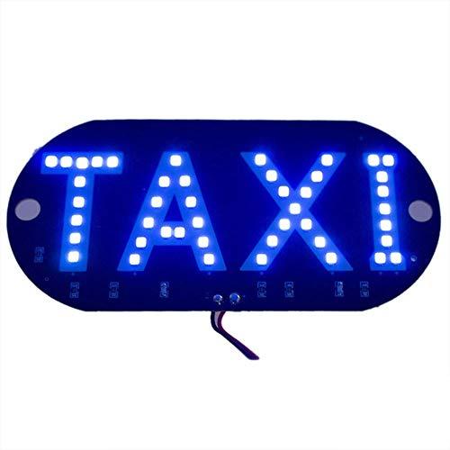 Rungao LED Taxi Cab pare-brise pare-brise Panneau lumière de voiture ampoule lampe haute luminosité