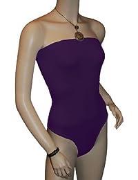 Femmes Sans Bretelle Body Haut Bandeau