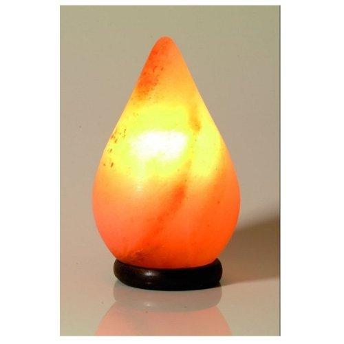 Salzkristalllampe Regentropfen poliert 2 bis 3 kg