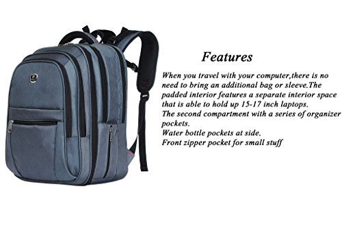 Binlion Taikes Laptop Backpack Up To 17-Inch Black23