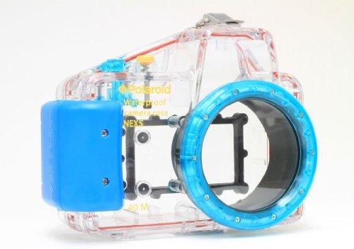 Polaroid Dive spezifische Wasserdicht Unterwasser-Gehäuse Schutzhülle für Sony Alpha NEX-5Digitalkamera mit A 16mm Objektiv