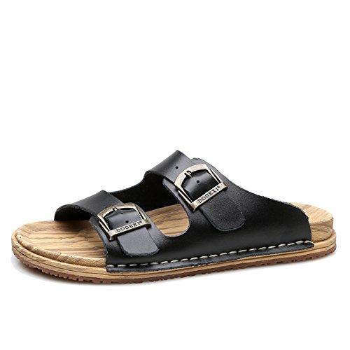 Ciabatte Da Donna,Versione Coreana Pantofole A Fondo Piatto,Donna Grande Codice Coppia Spiaggia Trascinare Parola C