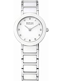 Bering Time Damen-Armbanduhr XS Ceramic Analog Quarz verschiedene Materialien 11422-754