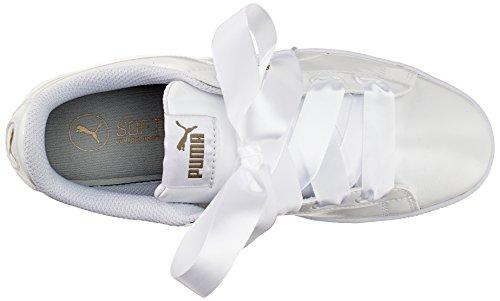 puma Ginnastica Da Blanc Femme Scarpe Bianco Puma P Nastro Vikky Piattaforma Bassi fYwXvv