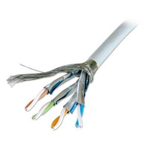 Lindy 12055 Bobina Cavo SFTP, PIMF Categoria 6, 10/100/1000Base-TX, 100 m
