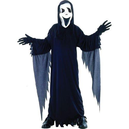 Scream Scary Movie Horror Verkleidung für Jungs Halloween Karneval Kostüm L (Jungs Kostüme)