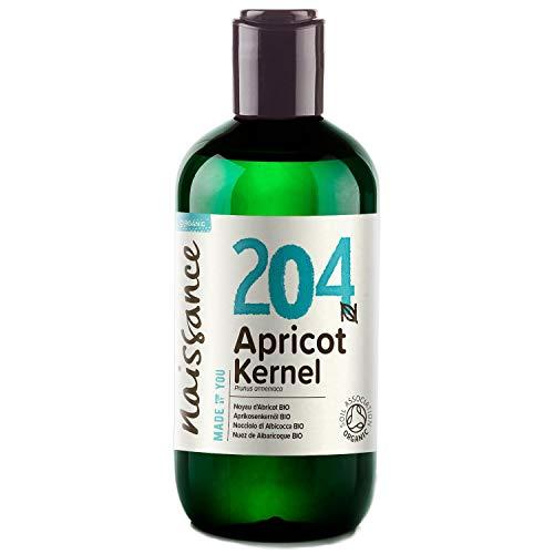 Naissance Olio di Nocciolo di Albicocca Biologico - Olio Vegetale Puro al 100% - 250ml