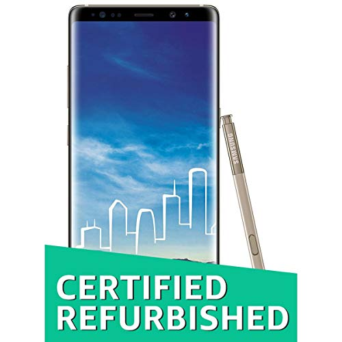 (Certified REFURBISHED) Samsung Galaxy Note 8 (Maple Gold)