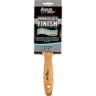 Axus Décor 3-inch Immaculate Finish Brush - Grey