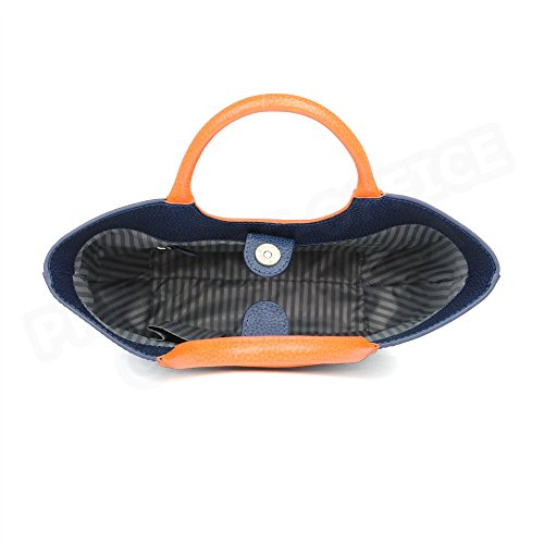 Mini sac Belle ile cuir Fabrication Luxe Française Bleu