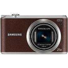 "Samsung WB350 - Cámara compacta de 16.5 Mp (pantalla táctil de 3"", zoom óptico 21x, estabilizador óptico, vídeo Full HD, WiFi), marrón"