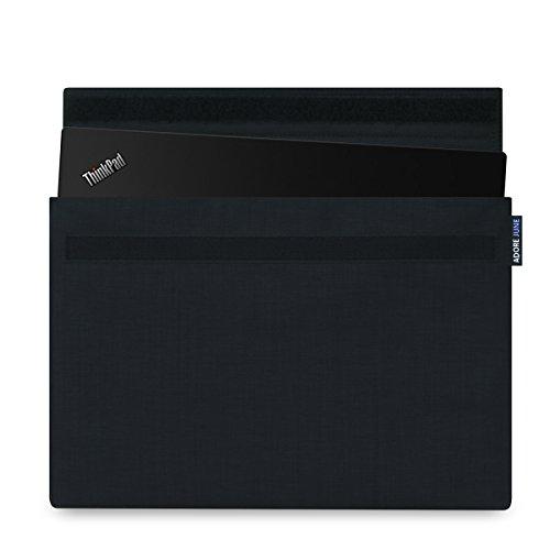 Adore June Laptop 14 Zoll Hülle Serie Classic Schwarz kompatibel mit Lenovo ThinkPad X1 Carbon 2016/2015 und Lenovo Thinkpad X1 Yoga 2017/2016 Sleeve Tasche aus widerstandsfähigem Textil-Stoff -