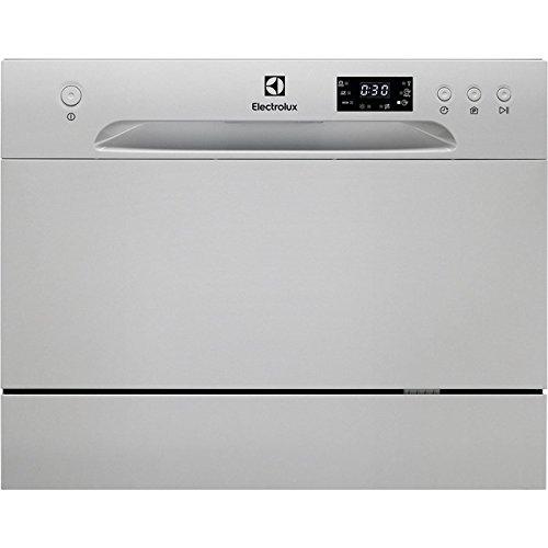 Electrolux ESF2400OS lavavajilla Encimera 6 cubiertos A+ - Lavavajillas (Encimera, Acero inoxidable, Compacto, Acero inoxidable, Botones, Condensación)