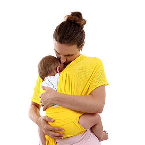 SONARIN All Season Transpirable Fular Portabebés,Baby Sling, Ideal Regalo(Amari...