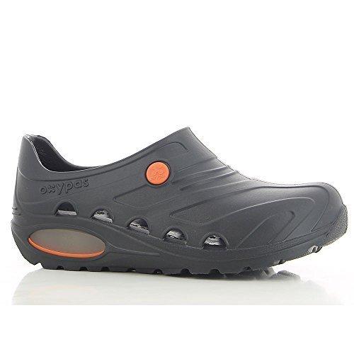 Oxypas Safety Jogger Berufsschuhe Oxyva Unisex-Erwachsene Arbeitsschuhe, Clogs, Farbe: Black, Gr: 37/38