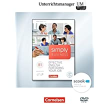 Simply Business B1. Unterrichtsmanager. Vollversion auf DVD-ROM: Vollversion auf DVD-ROM