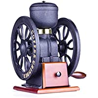 ZBHW Molinillo de café Manual, Molinillo de café de Hierro Fundido Amoladora Manual de Doble