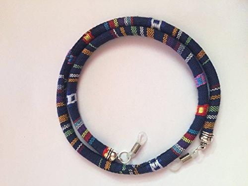 cinta-cordon-para-gafas-estampado-etnico-azteca-modelo-azul