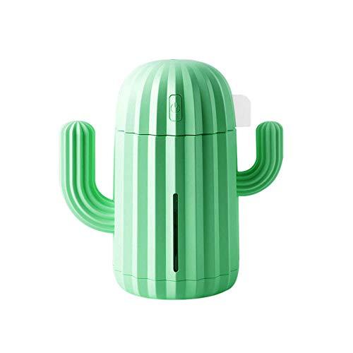40ML USB Luftbefeuchter Kaktus Timing Aromatherapie Diffusor Nebelhersteller Fogger Mini Aroma Zerstäuber für Zuhause ()